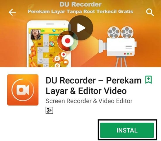 Install DU Recorder - Screen Recorder & Video Recorder