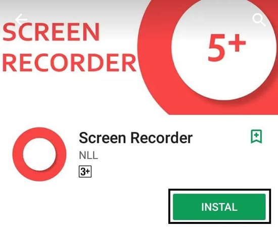Install Screen Recorder