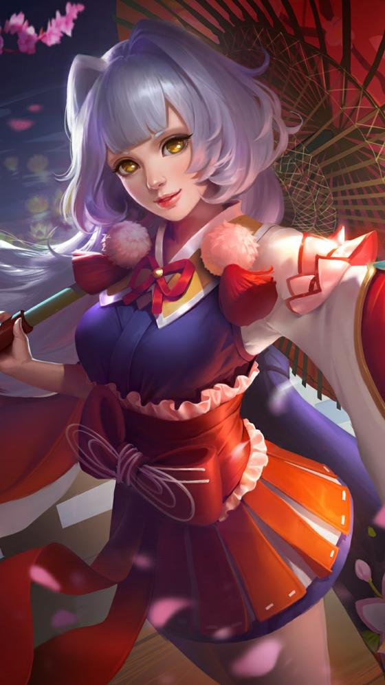 Wallpaper Mobile Legends Kagura