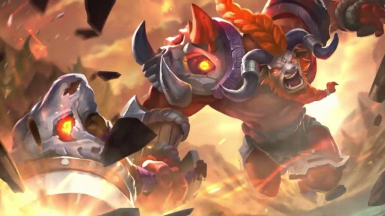 Wallpaper Mobile Legends Minotaur