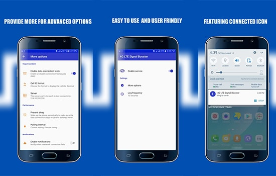 Aplikasi 4G LTE Signal Booster