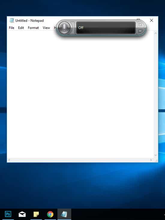 Buka Aplikasi Notepad