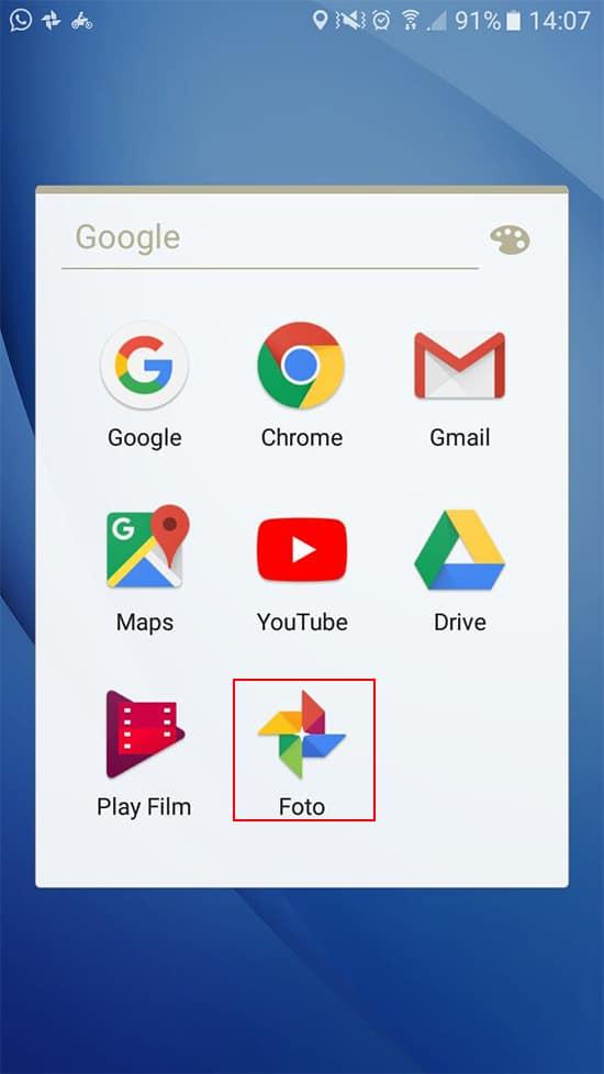 Buka Aplikasi Ggoogle Foto