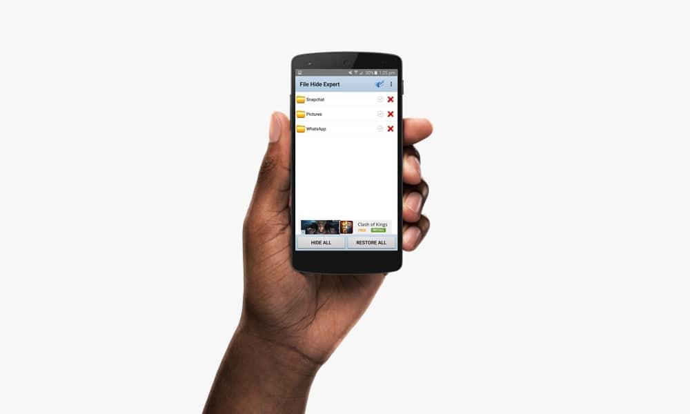Cara Cepat Sembunyikan File Rahasia Ketika Smartphone Kamu Dipinjam 8