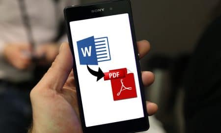 Cara Convert File Word Menjadi PDF 450x270 - Word DOC to PDF, Word, smartphone android, Smartphone, PDF, featured, Cara Convert file Word ke PDF, Android - Cara Convert File Word (.docx) ke PDF di Android