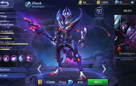 Zhask - Hero Mobile Legends