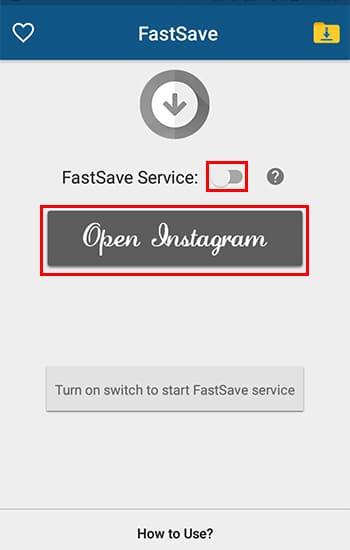Aktifkan FastSave Service