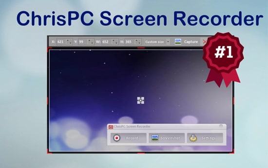 Software ChrisPC Screen Recorder