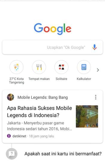 Aplikasi Google App