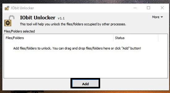 Buka Aplikasi Iobit Unlocker