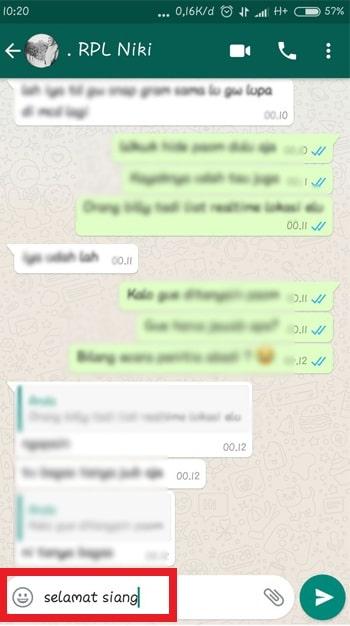 Pesan WhatsApp Terjadwal