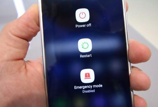 Restart Smartphone