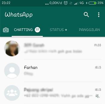 Foto Profil WhatsApp Tidak Terlihat