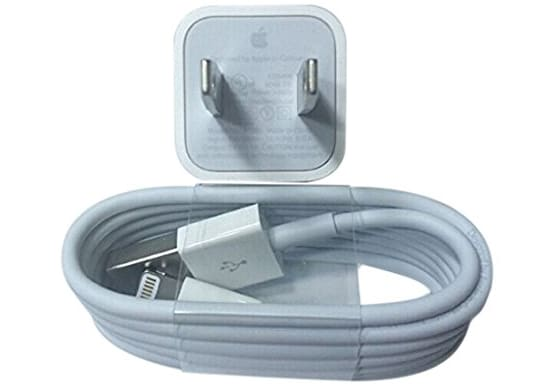 Berat Charger iPhone Asli