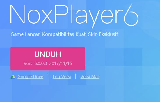 Donwload Aplikasi NoxPlayer
