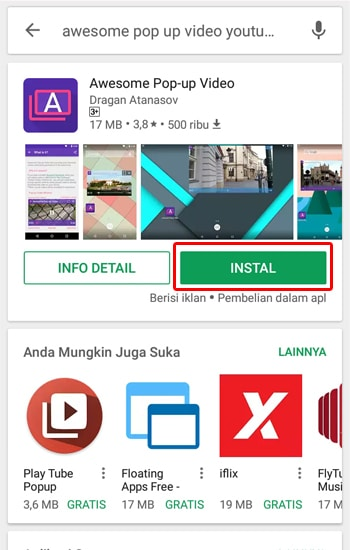 Download Aplikasi Awesom Pop Up Video
