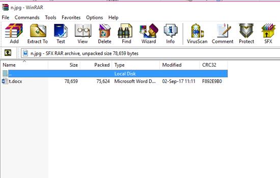 File yang Tersembunyi