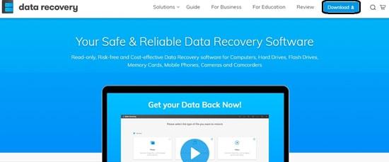 Unduh Software Wondershare Data Recovery