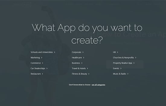 Pilih Kategori Aplikasi