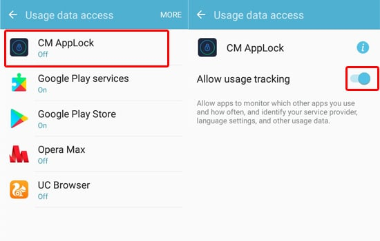 Memberikan Akses CM AppLocker