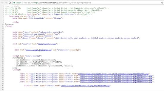 Tampilan Source Code