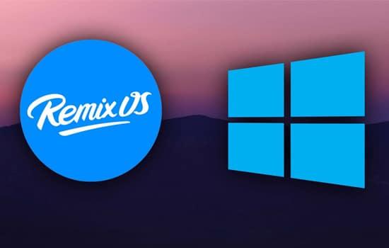 Emulator Remix OS