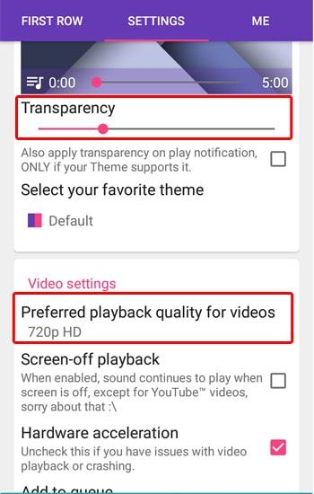 Setting Kualitas Video