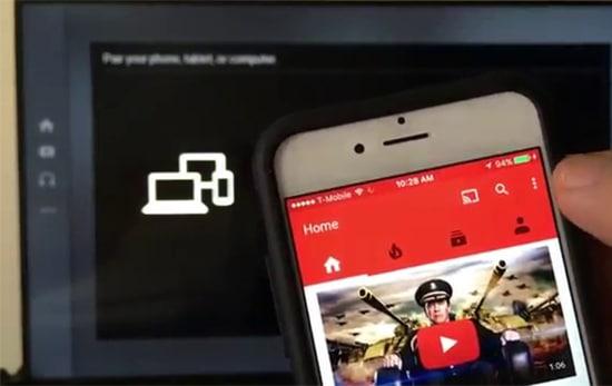 Cast YouTube ke TV