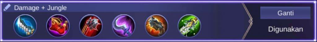 Build Item Damage + Jungle