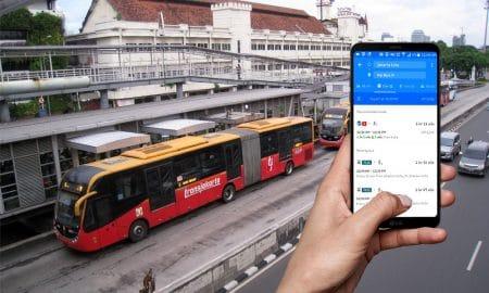 Cara Memantau Jadwal Bus Transjakarta Pakai Google Maps 12