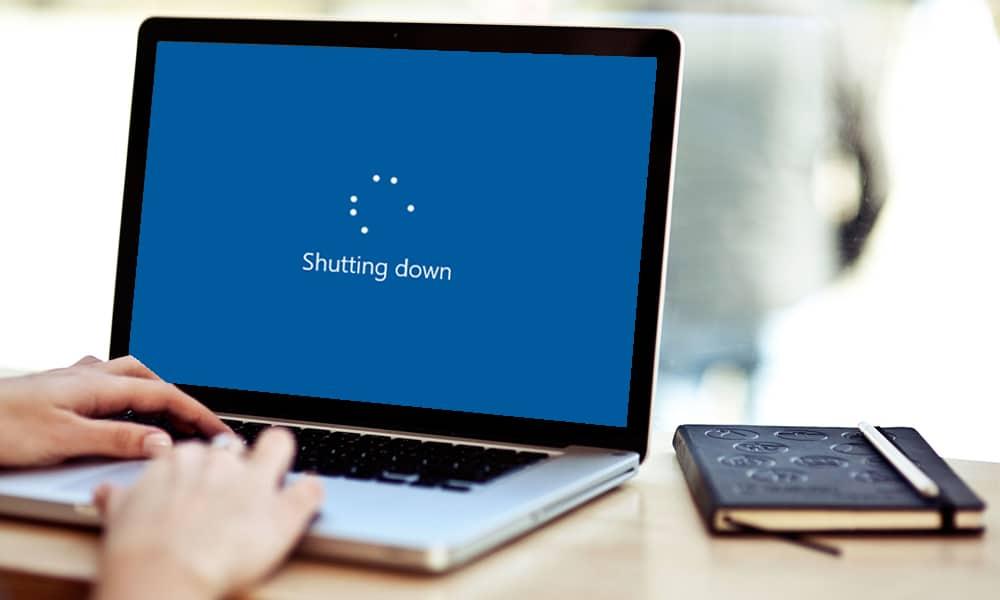 Cara Mematikan Laptop Tanpa Tombol Power 5