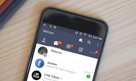 Cara Agar Chat LINE Selalu Berada Paling Atas 8