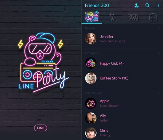 LINE Party