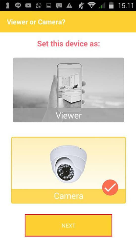 Pilih Camera