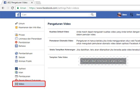 Cara Menonaktifkan Auto-play Video di Facebook 10