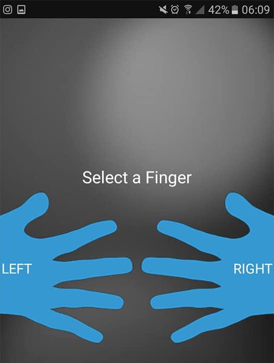 Pilih Tangan dan Jari
