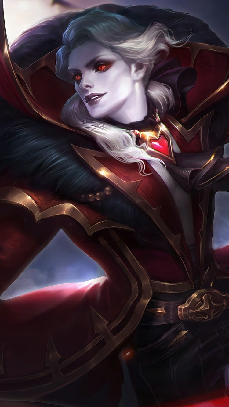 Alucard Viscount - Wallpaper Mobile Legends