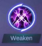 Spell Weaken