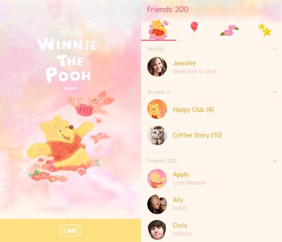 Winnie the Pooh Pastel