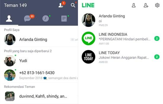 2 Akun LINE dalam 1 Smartphone Android