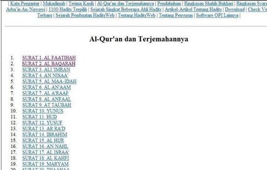 Aplikasi Al-Quran dan Hadist