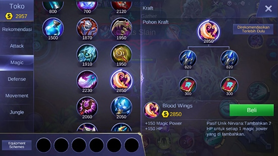 Blood Wings - Item Mobile Legends