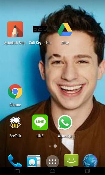 Tombol Navigasi Smartphone Android