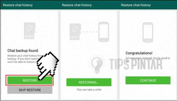 Cara Melihat Pesan WhatsApp yang Sudah Dihapus 4