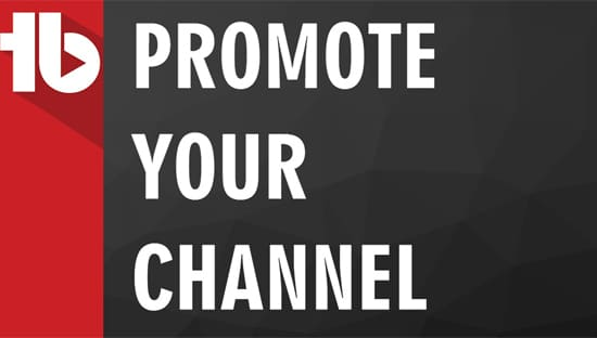 Promote Channel YouTube