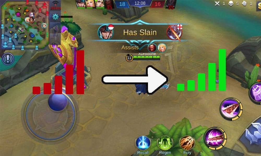 Cara Ampuh Mengatasi PING Merah (Lag) di Mobile Legends 7