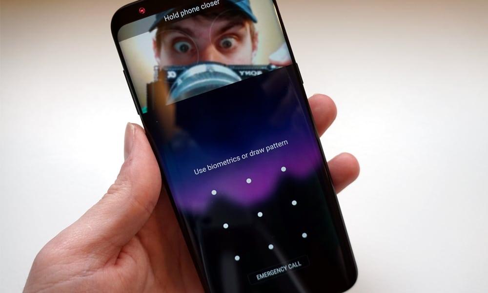 Cara Menggunakan Face ID iPhone X di HP Android 8