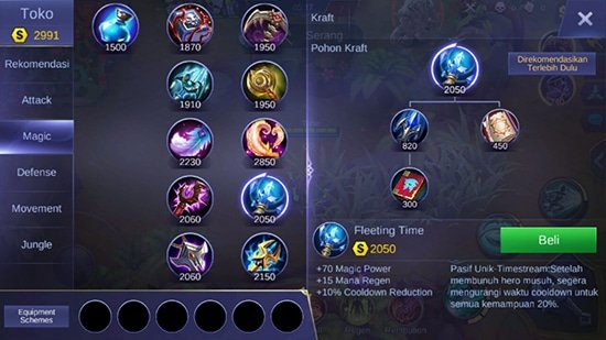 Fleeting Time - Item Mobile Legends