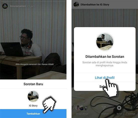 Lihat Profile Instagram