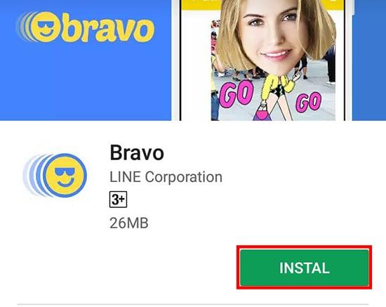 Instal Bravo